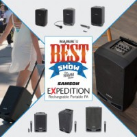 Samson Expedition выиграл награду Best In Show на NAMM 2019!